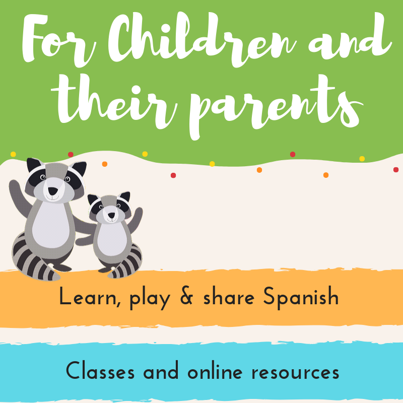 Teach spanish to children for parents