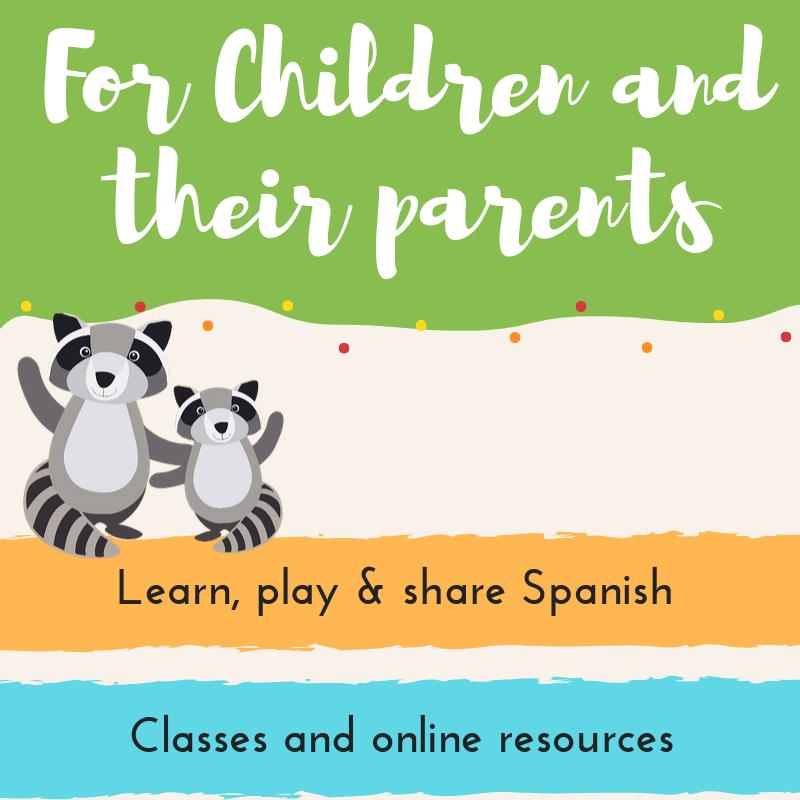 Teach spanish to children for parents